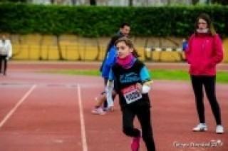 Atletismo de pista en Aluche