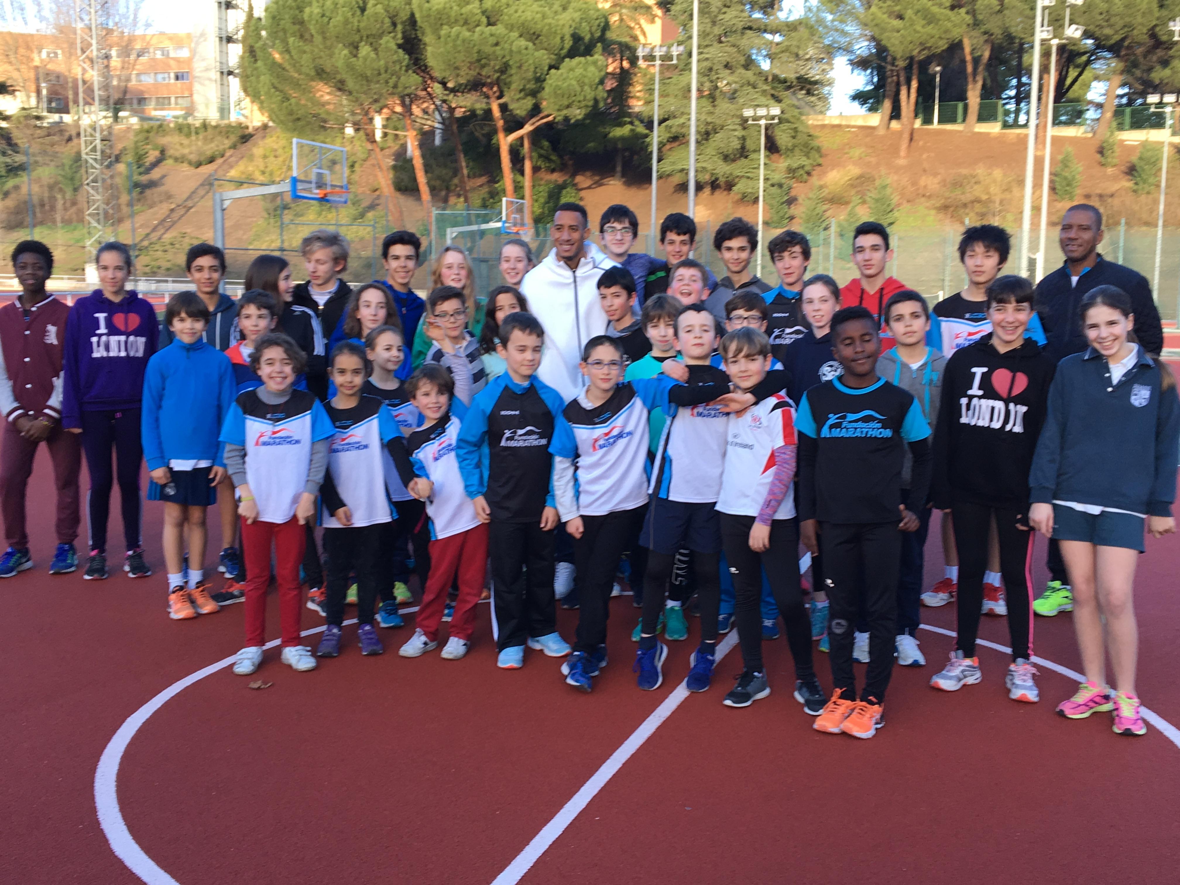 ORLANDO ORTEGA, padre, nueva incorporación a la Escuela de Atletismo